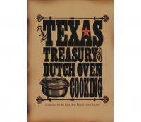 Lodge Cookbook ( Dutch Oven ) Texas Treasury Cooking