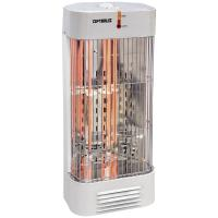 Optimus Tower Quartz White Heater With Thermostat