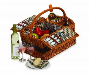 Wine Picnic Baskets by Picnic Plus