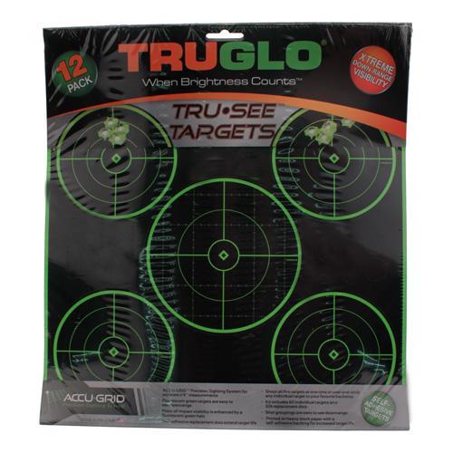 Truglo Watch Company Target 5-Bull 12X12 12Pk