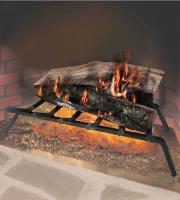 "Landmann 5/8"" Square Bar Steel Fireplace Grate - 23"", 5 Bar"