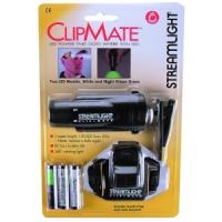 Streamlight Inc - Clipmate Black/ White LED