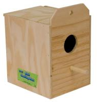 Parakeet Nest Box Outside Mount
