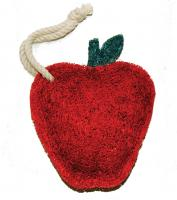 Loofah Art Red Apple