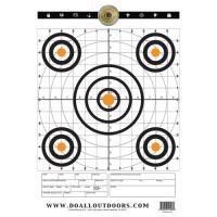 Paper Target Range 12X18 10Pk