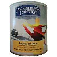 Backpacker's Pantry Spaghetti & Sauce Can