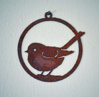 Elegant Garden Design Fat Chickadee Ornament