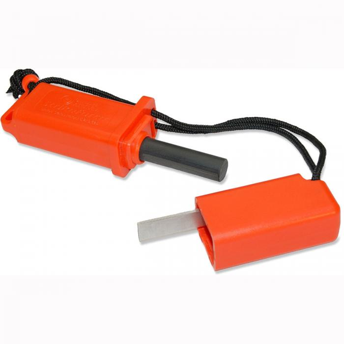 Ultimate Survival StrikeForce Fire Starter, Orange
