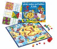 Pirates, Snakes & Ladders & Ludo Board Game