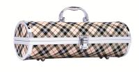 Primeware Gala Birmingham Wine Purse, Tan Plaid