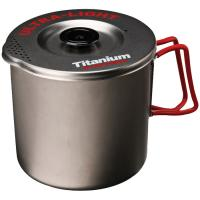 Evernew Titanium Pasta Pot Md Black