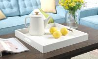 Convenience Concepts  Palm Beach Tray (White)