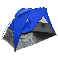 Picnic Time Cove Sun Shelter Blue