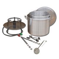 King Kooker #80BP- Cooker and 80 Qt. Pot Boiling Combo Pkg