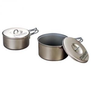Evernew Titanium Nonstick Medium Pot Set