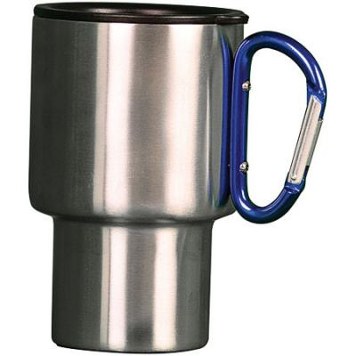 Aloe Gator Carabiner Travel Mug-blue 15oz