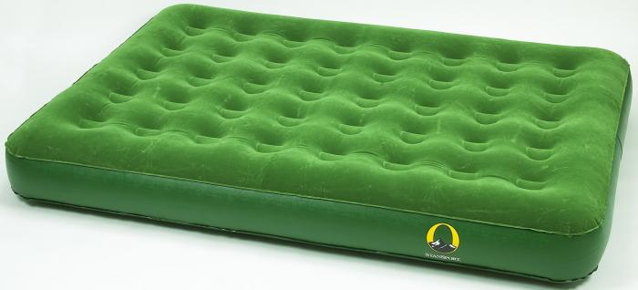 "Stansport Queen Air Bed with Pump - 78"" x 60"" x 5"""