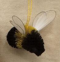 Brushart Bumble Bee Ornament