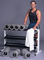 "Cap Barbell 48"" Wide 3-Tier Fitness Dumbbell Rack"