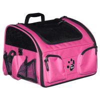 """Pet Gear 3-in-1 Bike Basket Carrier / Car Seat Pink 15.5"""" x 11.5"""" x 11.5"""""""
