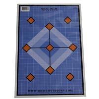 Accu Blue Diamond Paper target 12X18