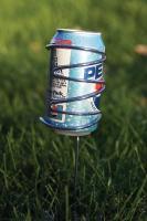 Picnic Plus Stainless Steel Beverage Holders
