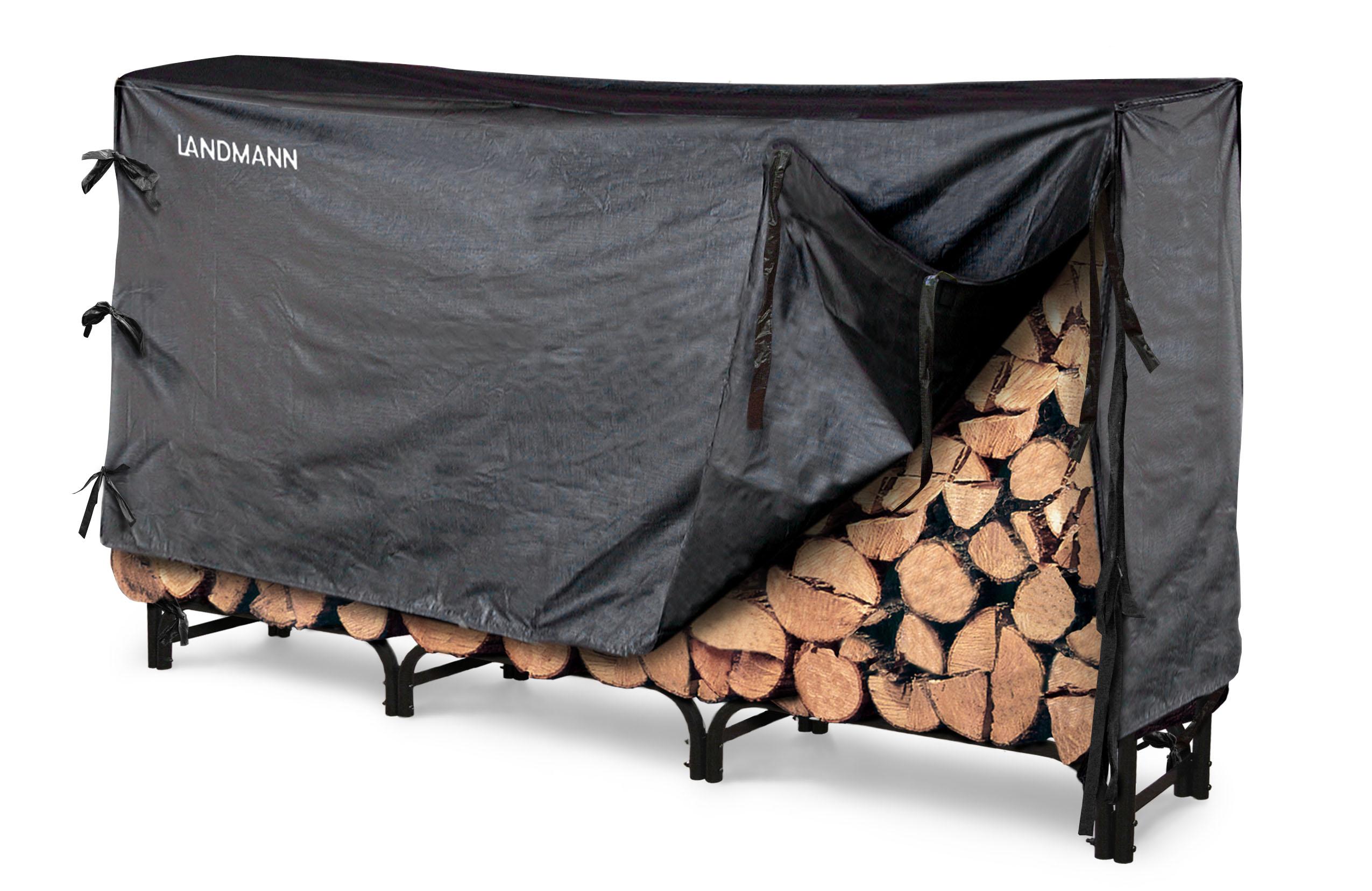 Landmann 8 Firewood Rack W Cover 32mm Tube And 1 0mm