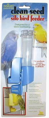 Clean Seed Silo Bird Feeder