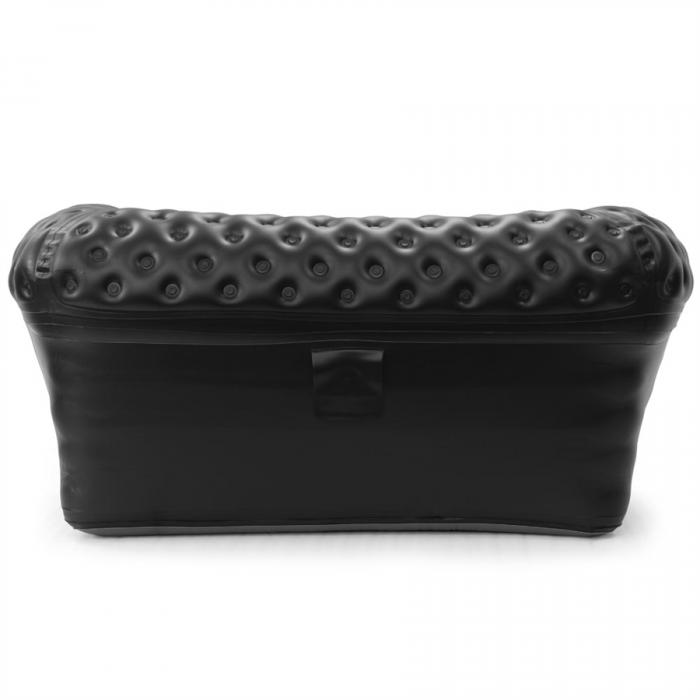 Smart Air Beds ChestAIRfield 2 Person Inflatable Chesterfield Sofa, Black (SUMO000025KB)