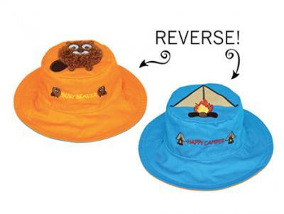 Luvali Convertibles Beaver/Tent Reversible Kids' Hat Small