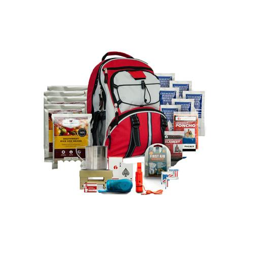 Wise Foods 5 Day Survival Back Pack - Red