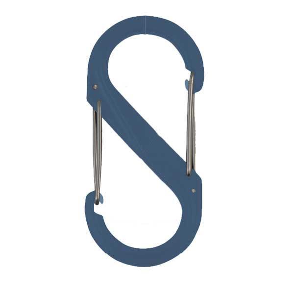Nite-ize S-Biner Plastic Size #2, Slate, Single