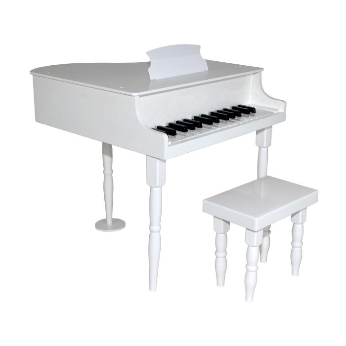 Dexton White Baby Grand Piano,DX-10154