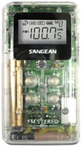 Sangean DT-120 WHITE Pocket Am/fm Digital Radio (White)