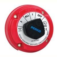 Perko 8503DP Medium Duty Battery Selector Switch w/Alternator Field Disconnect w/o Key Lock