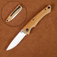 Stone River Folding Knife W/Olivewood Handle