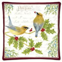 Alice's Cottage Cedar Waxwing Spiced Hot Pad