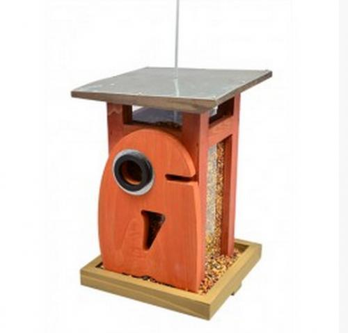 Rosso's International Art Deco Birdfeeder Owl