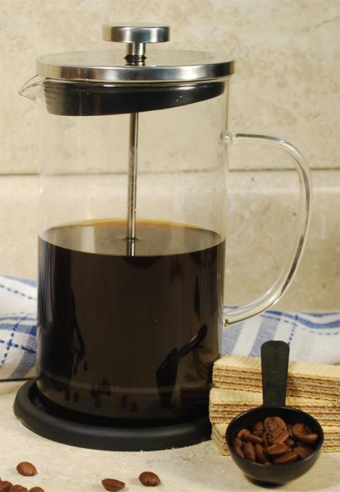 Cookpro Coffee Plunger  With Coaster - 8 cup