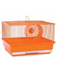 Single Story Hamster Cage -  Orange