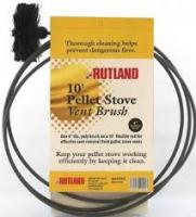 "Rutland 3"" Pellet Stove Brush w/ 10' Flexible Handle"