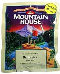 Mountain House Hearty Stew with Beef - Serves 2