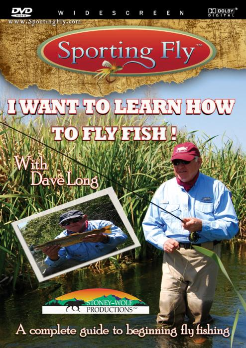 Stoney-Wolf I want to Learn to Flyfish DVD