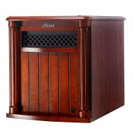 Hunter Home Comfort (H1500RC-CHY) 1500w 6 Quartz Element Infrared Wood Cabinet Heater with Remote Control