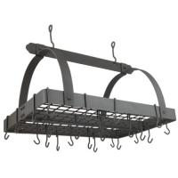 Old Dutch Graphite 30-by-20-Inch Rectangular Pot Rack