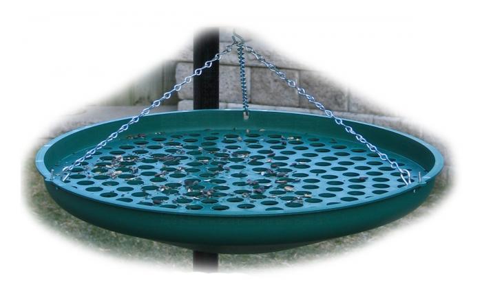 Backyard Birding Solutions Seed Saucer Green
