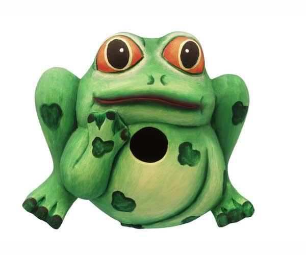 Bobbo Frog Birdhouse