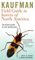 Peterson Books Kaufman Field Guide to Insects of North America