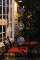 Evergreen Enterprises Hanging Solar Mosaic Decorative Globes