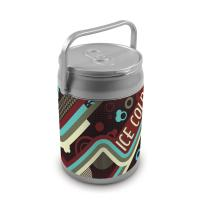 Picnic Time 9 Quart Capacity Can Cooler - Vintage Cola Can